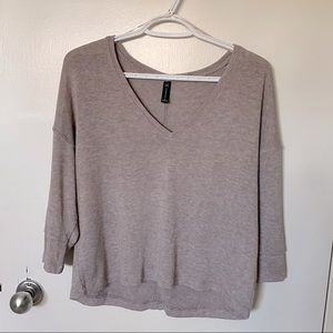 Gentle Fawn V Neck Sweater in mauve
